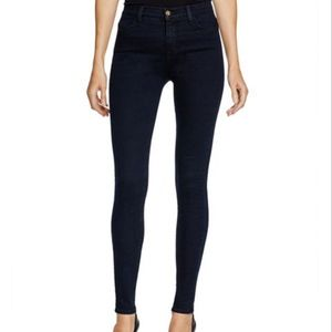 Maria High-Rise Skinny Jeans in Bluebird